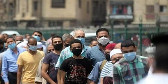 آمار کرونا در مصر || 586 مبتلای جدید و 48 فوتی