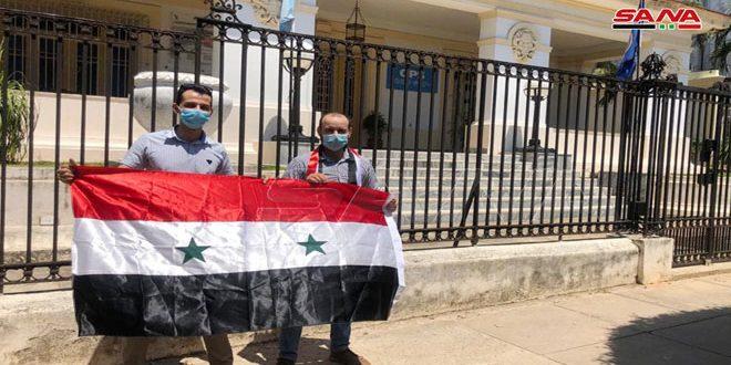سوری ها در کوبا: آمریکا و اروپا مرتکب تروریسم اقتصادی علیه سوریه می شوند