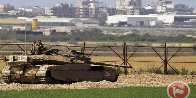 حمله نیروهای اشغالگر بهکشاورزان فلسطینی در نوار غزه