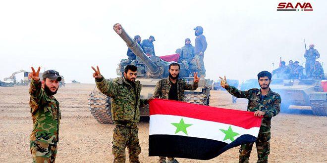 در عید الجلاء؛ سوریها ثمرات مبارزاتی را با غلبه بر تروریسم میچینند