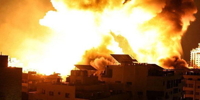 70 حمله هوایی جدیدی در نهمین روز تجاوز به نوار غزه