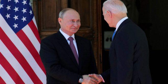 آغاز نشست سران روسای جمهوری پوتین و بایدن در ژنو