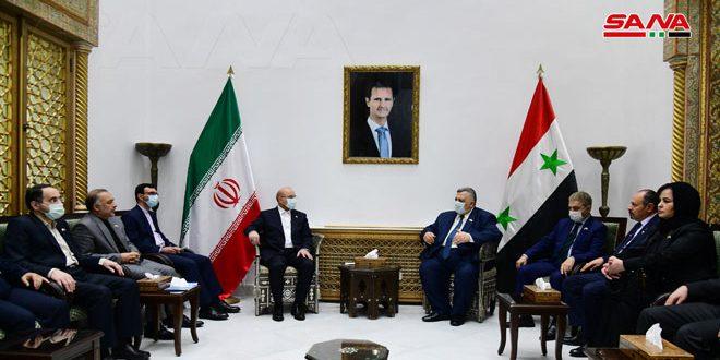 دیدار صباغ با قالیباف.. تاکید بر استحکام روابط سوریه و ایران