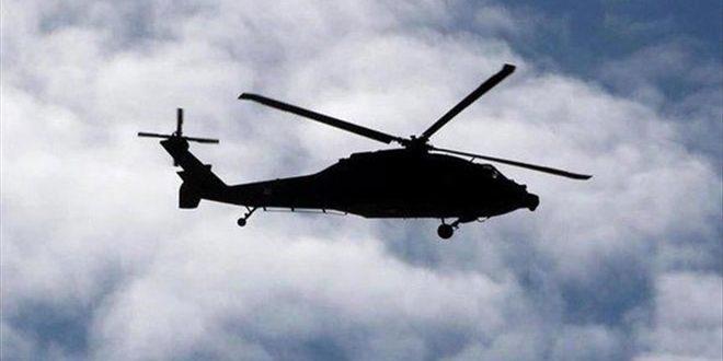 سقوط یک بالگرد نظامی عراق در صلاح الدین و شهادت 5 سرنشین آن