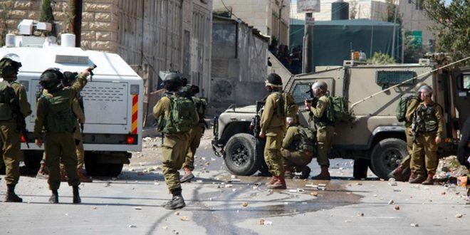 زخمی شدن ده ها فلسطینی درپی حملات نیروهای اشغالگر به کرانه باختری