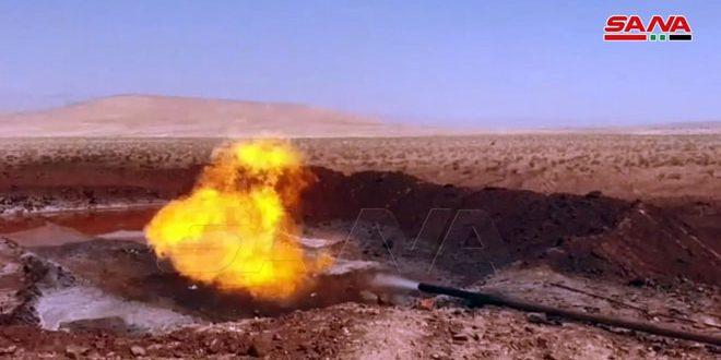 وزارت نفت چاه دیر عطیه 5 را بهره برداری کرد