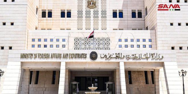 سوریه مداخله آشکار ترکیه در امور کشور تونس را به شدت محکوم می کند