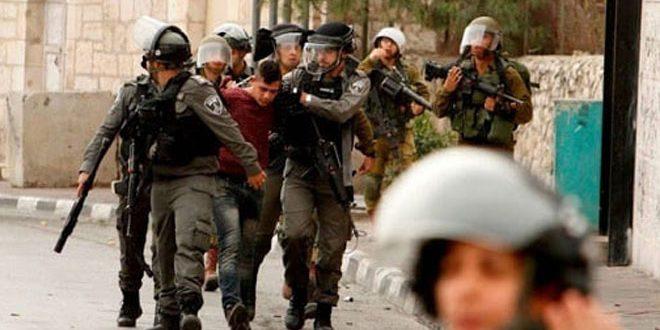مجروحیت یک فلسطینی به ضرب گلوله اشغالگران در روستای النبی صالح