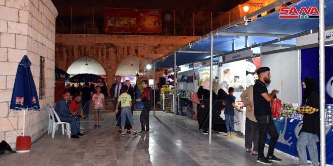 مشارکت 120 شرکت در جشنواره خرید کالای ساخت سوریه در حماه
