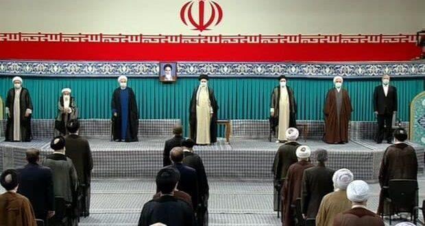 مراسم تنفیذ حکم ابراهیم رئیسی رئیس جمهور ایران