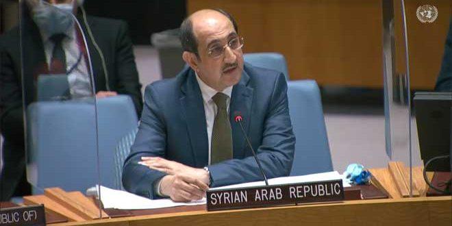 سفیر بسام صباغ: سوریه هرگونه دخالت خارجی در کار کمیته بحث قانون اساسی را رد می کند