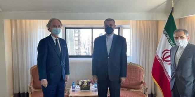 تاکید مجدد ایران بر حمایت از حاکمیت و تمامیت ارضی سوریه