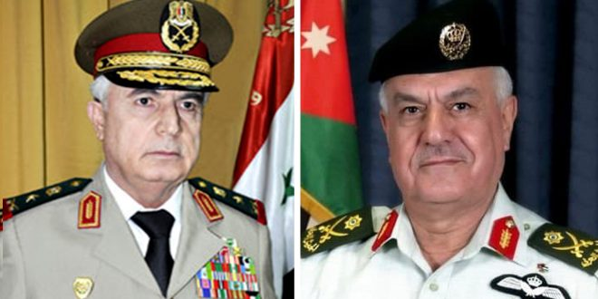 به دعوت سرلشکر یوسف الحنیطی رئیس ستاد مشترک نیروهای مسلح اردن… سپهبُد علی عبد الله ایوب در یک سفر رسمی عازم اردن شد