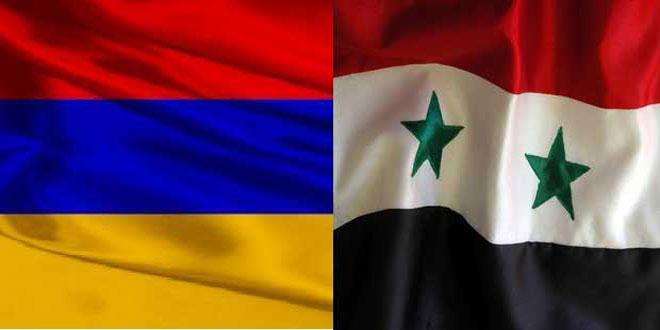 در سی امین سالگرد استقلال ارمنستان..روابط با سوریه تاریخی و بر اساس احترام است