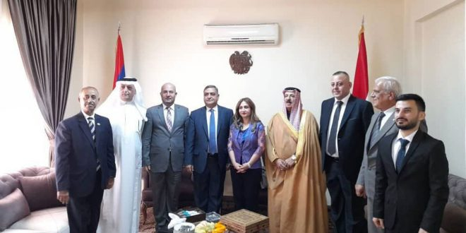 تقویت روابط محور دیدار انجمن دوستی سوریه و ارمنستان با سفیر کوورکیان