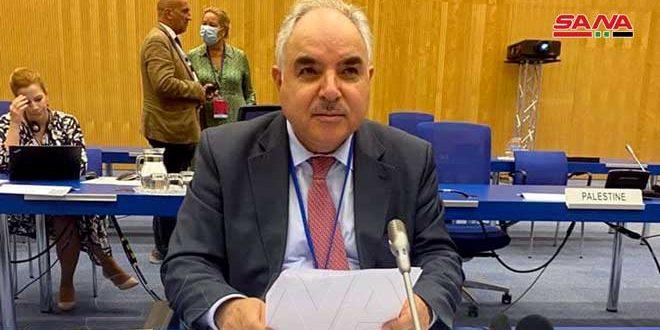 سفیر خضور: سوریه به تعهدات خود در قبال معاهده منع گسترش سلاح های هسته ای عمل کرده است