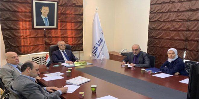 مشارکت سوریه در فعالیت های کنفرانس سازمان ملل در زمینه حمل و نقل پایدار