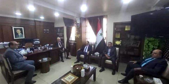 مذاکرات سوریه و عراق برای افزایش سطح مبادلات تجاری و سرمایه گذاری صنعتی