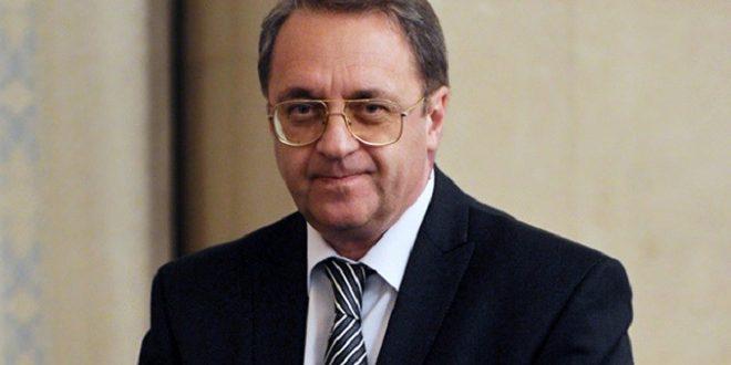 Bogdanov: La date de la tenue de la conférence du dialogue national syrien à Sotchi n'a pas changé
