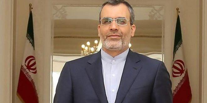 Jaberi Ansari : Nous espérons que la conférence de dialogue national à Sotchi aidera à régler la crise en Syrie