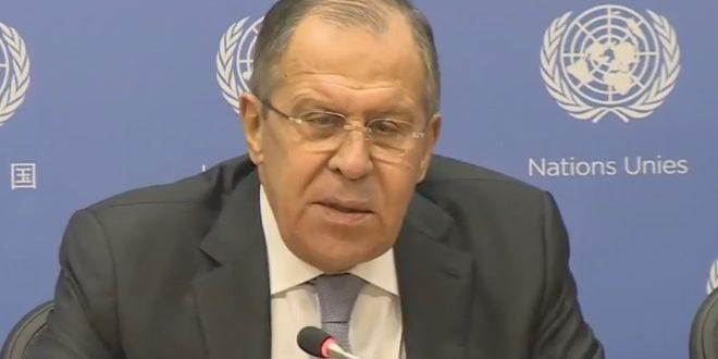 Lavrov : La Coalition de Washington ne combat pas les terroristes du Front Nosra en Syrie