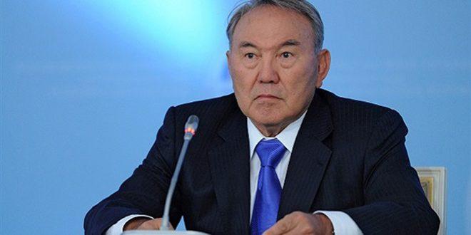 Nazarbaïev : Le dialogue est la base dans le règlement politique de la crise en Syrie