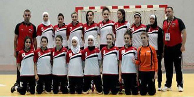 L'équipe féminine syrienne de handball bat son adversaire irakienne au championnat d'Asie de l'ouest