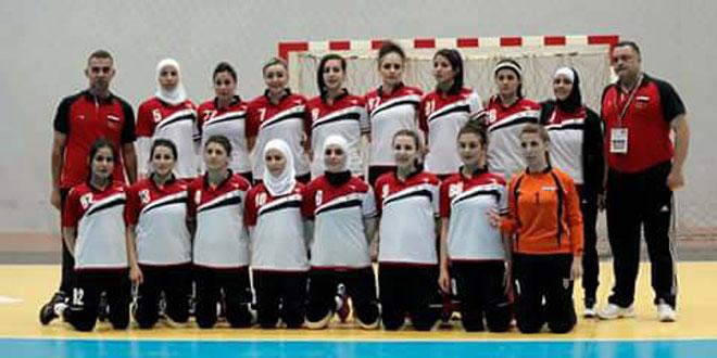 L'équipe féminine syrienne de handball remporte le match face à son adversaire libanaise dans le championnat d'Asie de l'Ouest