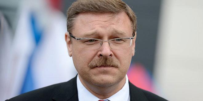 Kosachev: Les Etats-Unis poursuivent leur soutien à l'opposition syrienne extrémiste