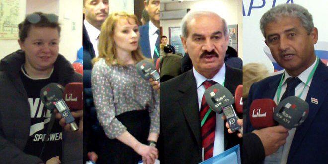 Une délégation de l'Assemblée du Peuple visite des centres électoraux à Moscou: Le processus électoral se déroule démocratiquement
