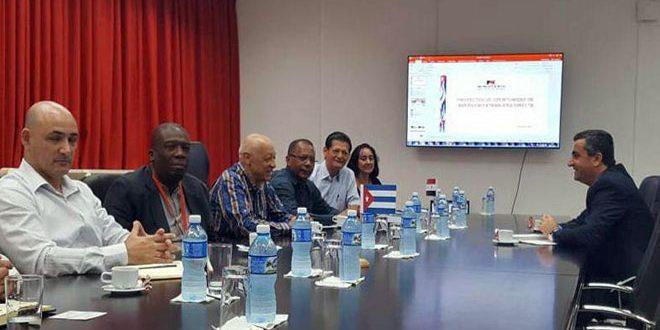 Le ministre cubain de l'industrie affirme la nécessité de renforcer les relations économiques entre les deux pays