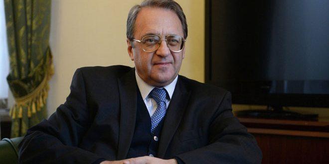 Bogdanov : Les préparatifs de la réunion d'Astana 9 se poursuivent