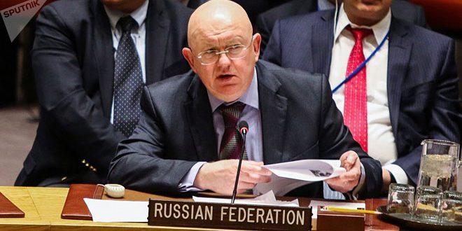 Nebenzia: Le règlement de la situation humanitaire en Syrie se fait via le respect de la souveraineté