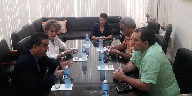 Le directeur de l'agence Prinsa Latina insiste sur l'importance de renforcer la coopération avec SANA