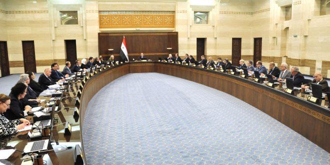 Le Conseil des Ministres approuve un plan de travail pour les zones libérées du terrorisme dans les banlieues de Homs, Hama et Damas
