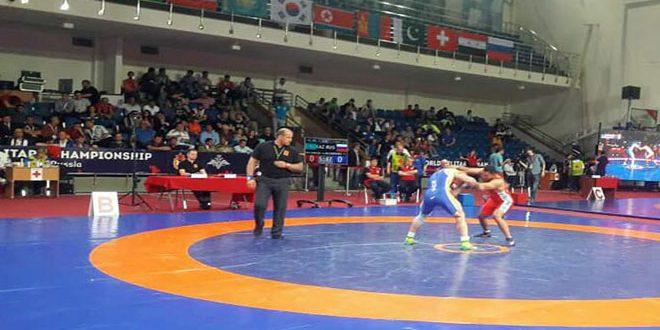 Karad remporte la médaille de bronze au Championnat du monde militaire  à Moscou