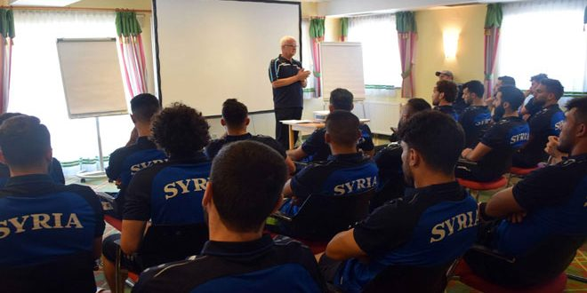 La sélection syrienne de football poursuit son camp d'entraînement en Autriche