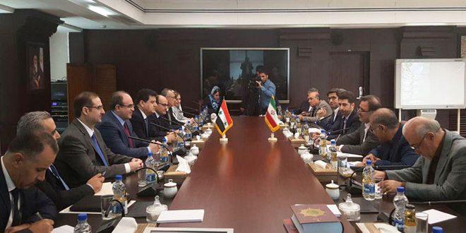 Examen de la coopération économique entre la Syrie et l'Iran
