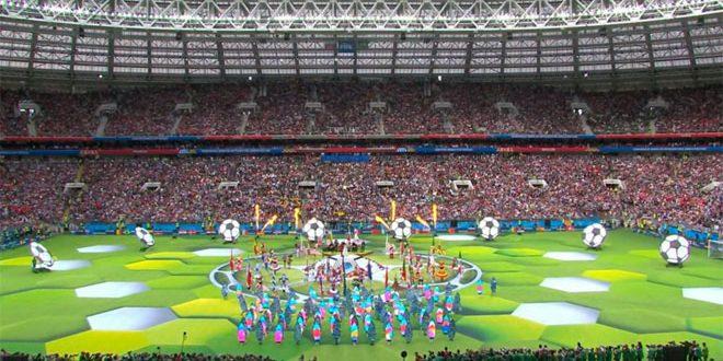 Poutine ouvre la Coupe du monde de football