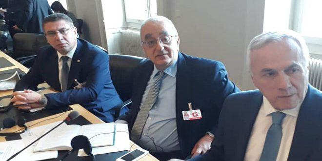 Clôture de la réunion conjointe APM-HCR avec la participation d'une délégation de l'Assemblée du peuple