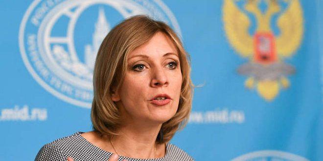 Zakharova: La présence illégitime des forces étrangères sur les territoires syriens entrave tout règlement