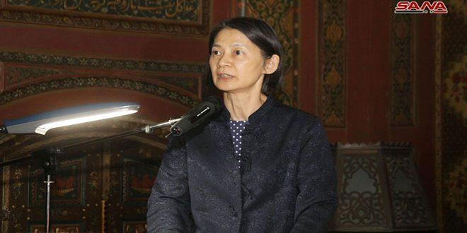 Suzaki : La protection du patrimoine syrien est une responsabilité du monde entier