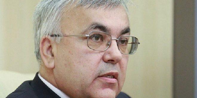 Verchinine examine avec Hadad la situation en Syrie