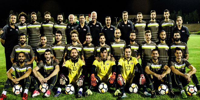 La sélection syrienne de football conserve sa 73e place au niveau mondial