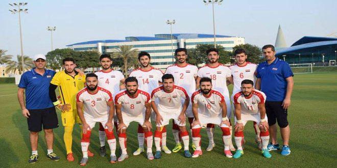 La sélection olympique syrienne bat son adversaire émiratie aux jeux asiatiques