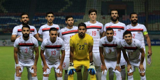 La sélection olympique syrienne de football se qualifie pour le 16e tournoi des Jeux asiatiques en Indonésie