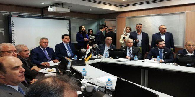 Conclusion d'un mémorandum d'entente entre la Syrie et l'Iran pour la coopération dans les domaines commerciaux et d'investissement