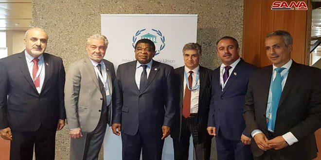 La délégation de l'Assemblée du peuple examine avec l'Union interparlementaire la coopération bilatérale