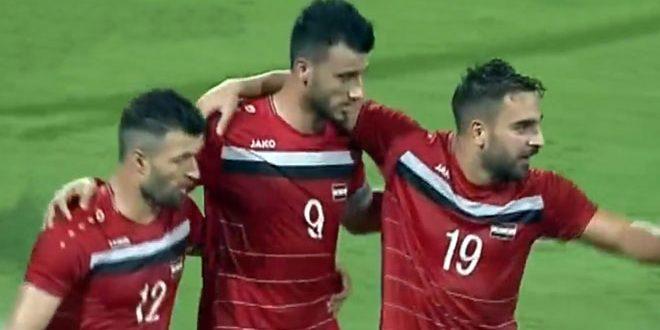 La sélection syrienne de football bat son adversaire bahreïnie