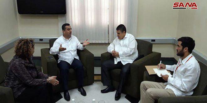 Le groupe d'amitié parlementaire de Syrie-Cuba affirme que la Syrie triomphera définitivement